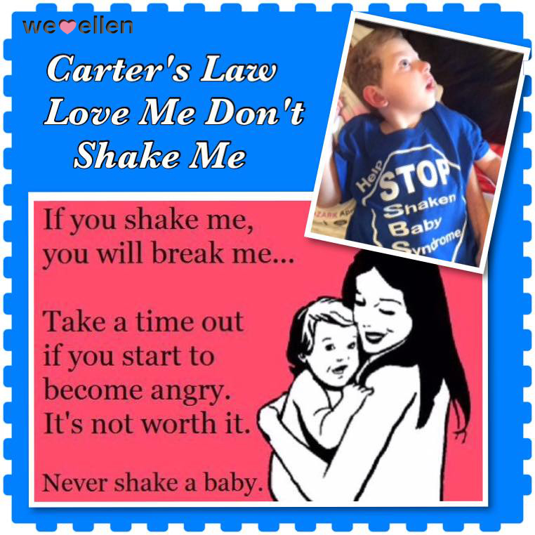 Carter's Law-Love Me Don't Shake Me