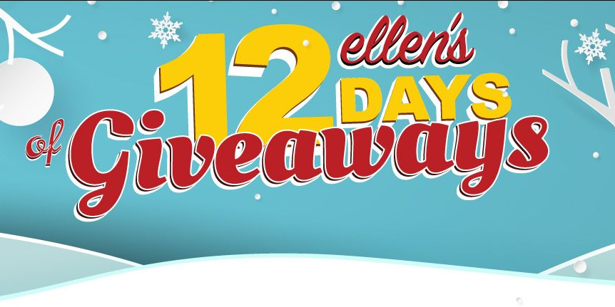 Ways to Win Ellen's 12 Days of Giveaways